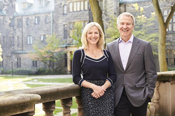 Joannah and Brian Lawson