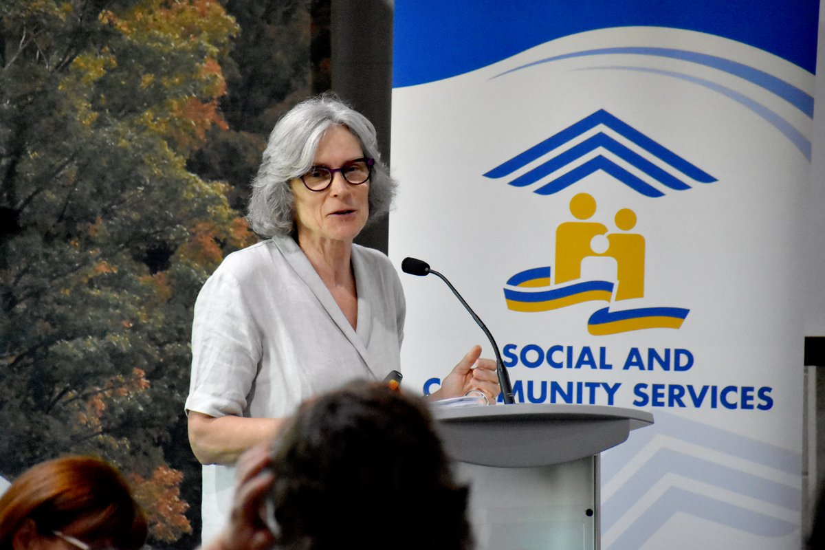 Prof. Valerie Tarasuk at the 2017 Simcoe County Food Security Forum